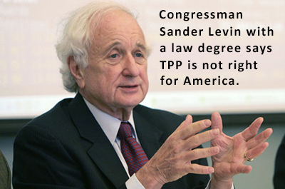 Sander Levin, Congressman Michigan