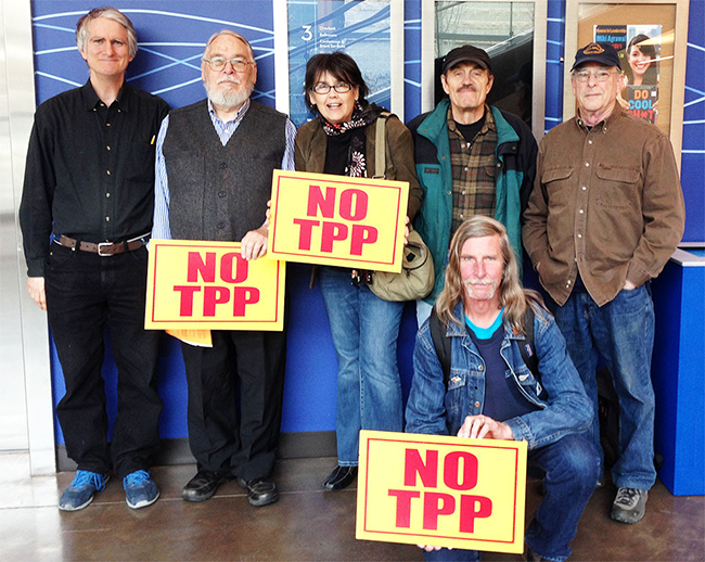 Tell Your Member of Congress: NO TPP