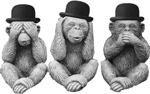 Three Congressional Monkeys