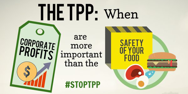 TPP Corporations Can Undermine Food Safety
