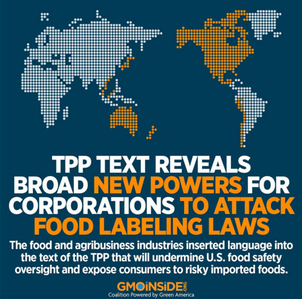 TPP Bad For Food Safety
