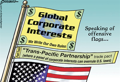 TPP Overrule USA Laws
