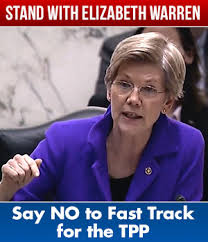 Elizabeth Warren Says TPP Is Bad